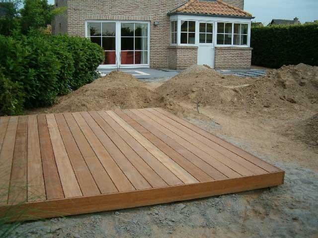 Terras hout tuinen herolds - Terras hout ...